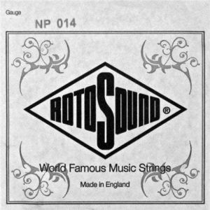 ROTOSOUND NP014 STAINLESS STEEL PLAIN