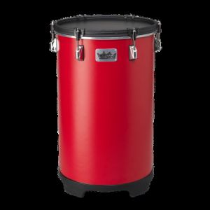 REMO BH-0016-A1- Bahia Bass Drum, 16` Diameter, 21` Height, Fabric Gypsy Red