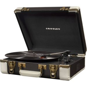Crosley CR6019D-BKВиниловый проигрыватель EXECUTIVE PORTABLE USB Black & White