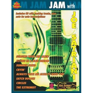 HAL LEONARD 2500426 JAM WITH JOE SATRIANI